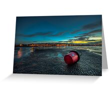 Ryde Sands at Night Greeting Card