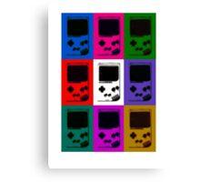 Nintendo Game Boy Classic Pop Art Canvas Print