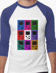 Nintendo Game Boy Classic Pop Art Men's Baseball ¾ T-Shirt