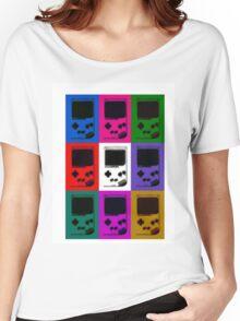 Nintendo Game Boy Classic Pop Art Women's Relaxed Fit T-Shirt