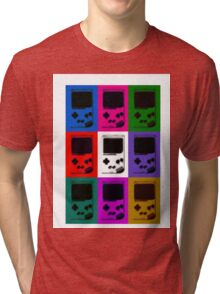 Nintendo Game Boy Classic Pop Art Tri-blend T-Shirt