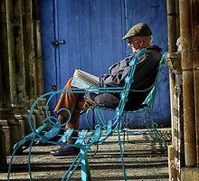 Man Reading by Simon Duckworth
