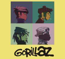 Gorillaz by BubbleCompany
