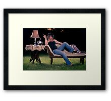 No walls Framed Print