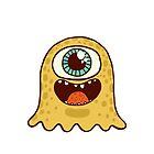 Cute monster by kostolom3000