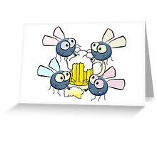 Flies work 1 Greeting Card