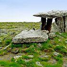 Poulnabrone dolmen - the Burren - Ireland by Arie Koene