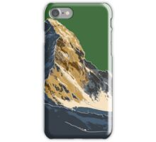 The Matterhorn iPhone Case/Skin