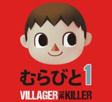 Murabito 1 (Villager the Killer) by Q-Tees