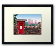 Postbox Nr Ironbridge  Framed Print