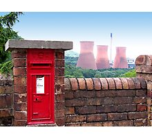 Postbox Nr Ironbridge  Photographic Print