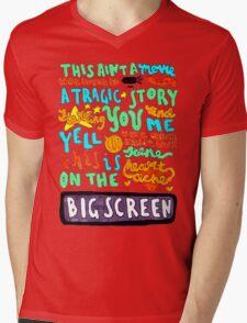 Heartache On The Big Screen Mens V-Neck T-Shirt