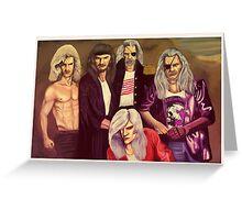 Whitesnakes  Greeting Card