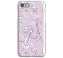 Evening Music and Tour Eiffel iPhone Case/Skin