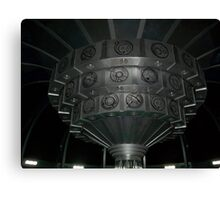 Inside The TARDIS Canvas Print