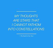 The Stars I Cannot Fathom by rhiannontl