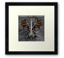 Death Metal Guitar Framed Print