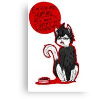 Marki-Kitten Canvas Print