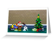 These aren't the santa you are looking for Greeting Card