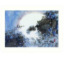 First Frost Art Print