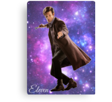 Eleven In Stars Canvas Print