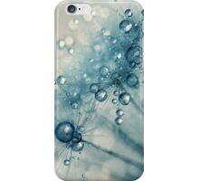 Creamy Blue Dandy Drops iPhone Case/Skin