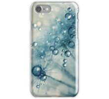 Creamy Blue Dandy Drops iPhone Case/Skin