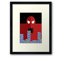 Spider-man Poster Framed Print