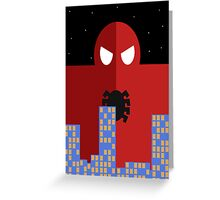 Spider-man Poster Greeting Card