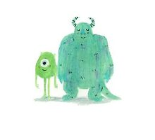 Monsters Inc. Case by Olivia Dawson