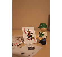 The Joker in the Pack Photographic Print