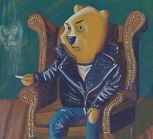 Smoking Winnie The Pooh by reujken