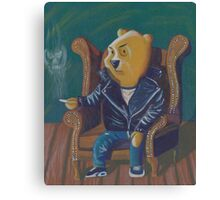 Smoking Winnie The Pooh Canvas Print