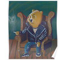 Smoking Winnie The Pooh Poster