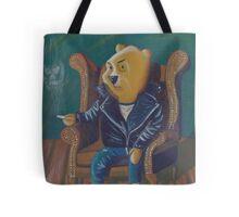 Smoking Winnie The Pooh Tote Bag