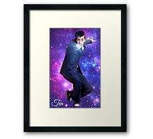 Ten In Stars Framed Print
