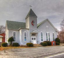 Howard Chapel Ridgeville UMC by James Brotherton