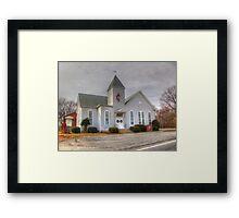 Howard Chapel Ridgeville UMC Framed Print