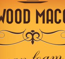 Fleetwood Macchiato with Gradient Coffee Color Sticker