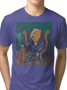 Smoking Winnie The Pooh Tri-blend T-Shirt