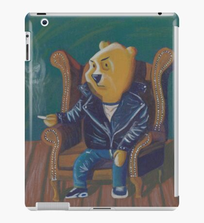 Smoking Winnie The Pooh iPad Case/Skin