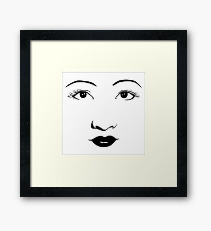 Old Hollywood - Anna May Wong Framed Print