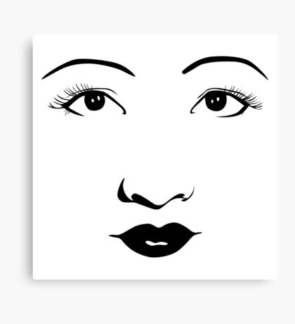 Old Hollywood - Anna May Wong Canvas Print