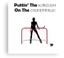 Kibosh On Creeping Canvas Print