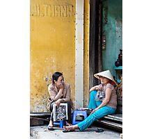 Street Life, Hoi Ann, Vietnam Photographic Print