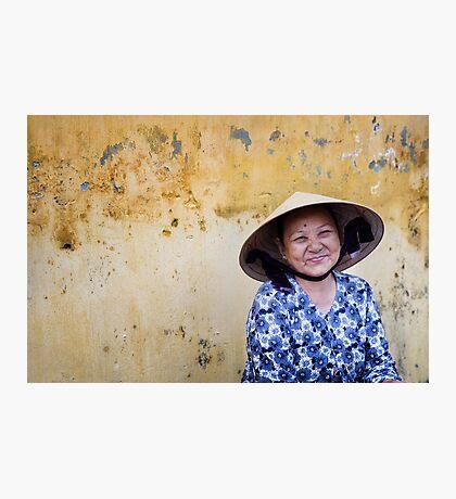 Vietnamese Lady, Hoi Ann Photographic Print