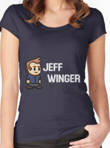 Jeff Winger - Community Women's Fitted Scoop T-Shirt