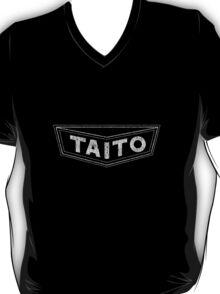 Taito - Retro White Distressed T-Shirt