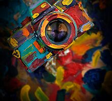 colourful camera by laikaincosmos