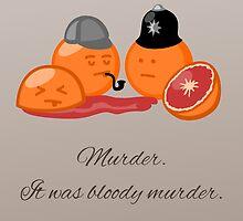 Bloody Orange Murder by pda1986